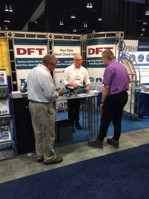 2017 Global Petroleum Show DFT Booth