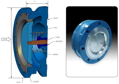 tlw check valve