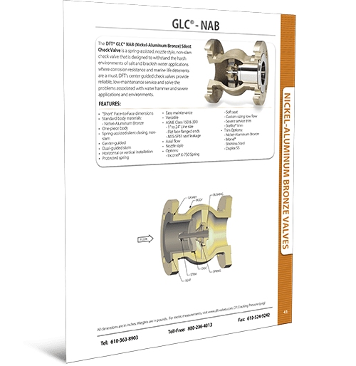 GLC® NAB (Nickel-Aluminum Bronze)