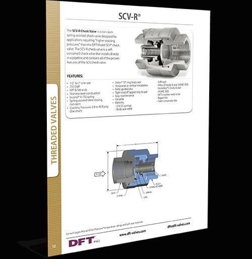 SCV-R Restrictor Check