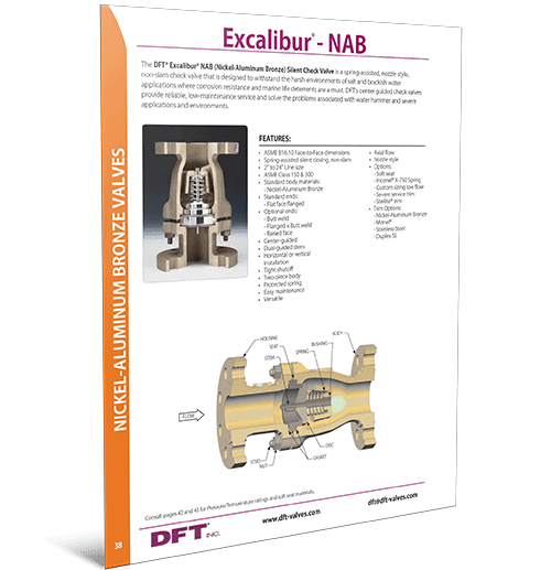 Excalibur ® NAB (Nickel-Aluminum Bronze)