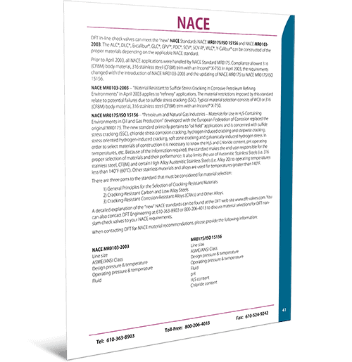 NACE Standards